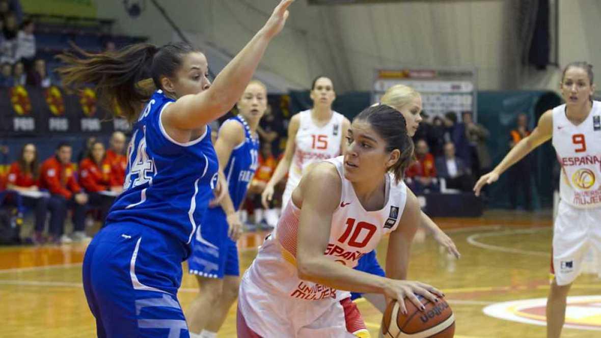 Baloncesto - Clasificación Cto. Europa femenino: España - Finlandia - ver ahora