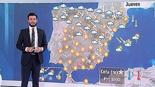 Viento muy fuerte en la costa Brava, Cantábrico y Pirineos