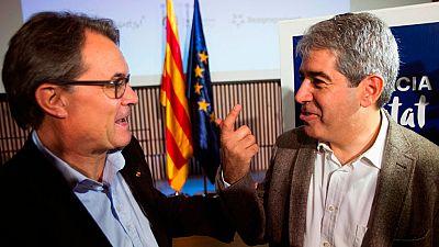 Junts Pel Sí ofrece a la CUP un gobierno de transición con Artur Mas al frente