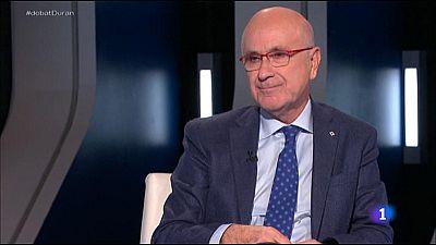 El Debat de La 1 - Entrevista a Josep Antoni Duran i Lleida