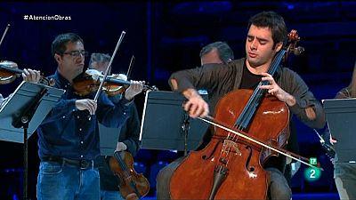 Atenci�n obras - El talento del chelista Pablo Ferr�ndez