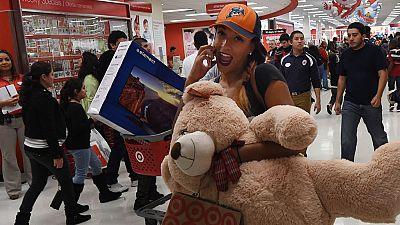 Las compras navideñas arrancan en EE.UU. con el 'Black Friday'
