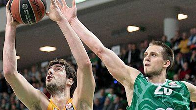 Stelmet Zielona Gora 64 - 93 FC Barcelona Lassa
