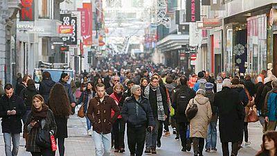 Bruselas recobra poco a poco su ritmo habitual después de una semana semiparalizada