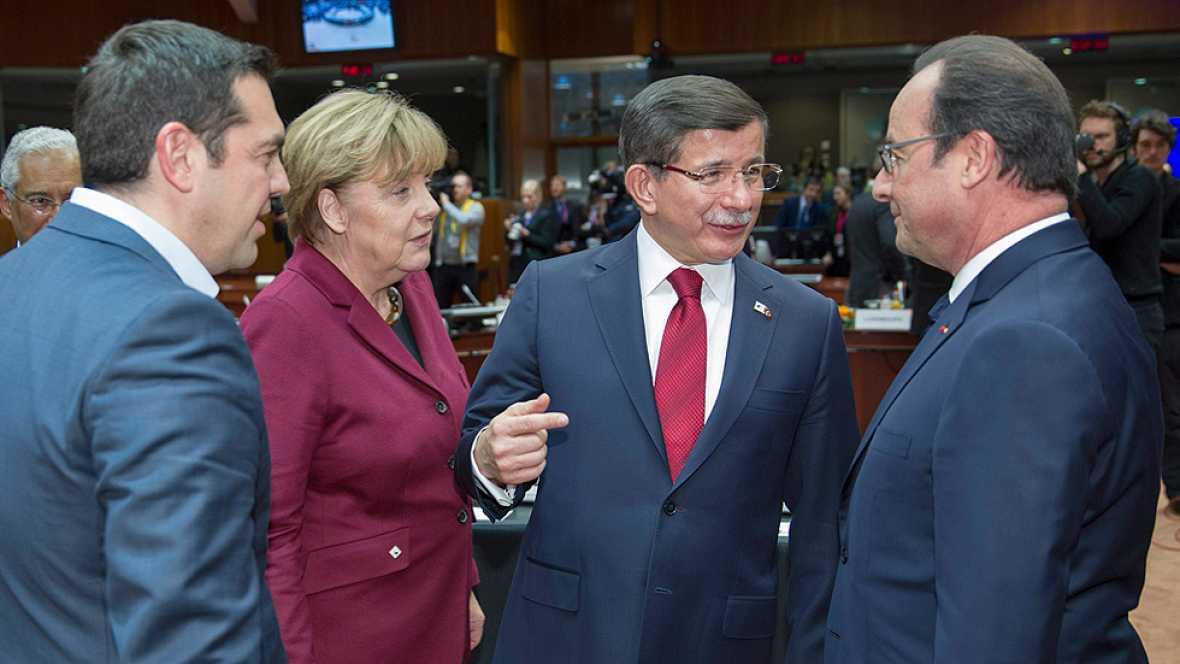 La UE y Turqu�a relanzan sus relaciones en la cumbre de Bruselas