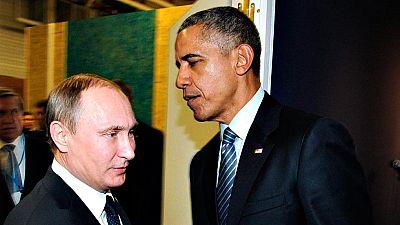 Vladímir Putin y Barack Obama se reúnen aprovechando la cumbre del clima de París
