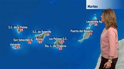 El tiempo en Canarias - 01/12/2015