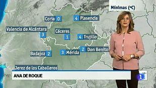 El tiempo en Extremadura - 01/12/15