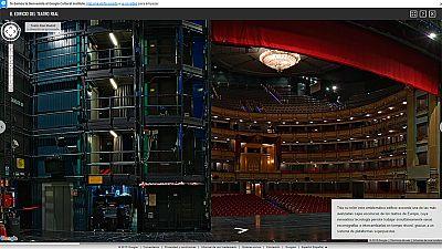 El Google y el Teatro Real se alían para ofrecer un recorrido virtual y panorámico por el templo de la ópera
