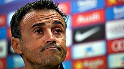"""El entrenador del Barcelona, Luis Enrique Martínez, ha pedido a los culés que mañana acudan al Camp Nou """"que estén tranquilos"""", porque sacará """"un once de garantías"""" para resolver la eliminatoria de Copa de Rey ante el Villanovense, que se presenta en"""