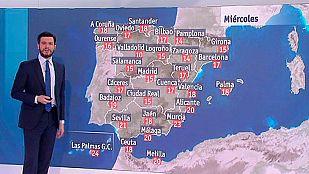 Cielos despejados salvo en el noroeste y calima en Canarias