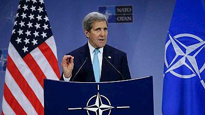 John Kerry pide a sus socios de la Alianza Atlántica que se involucren más en la lucha contra el Estado Islámico