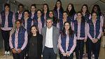 Las 'guerreras' son despedidas con honores antes de partir al Mundial de Balonmano