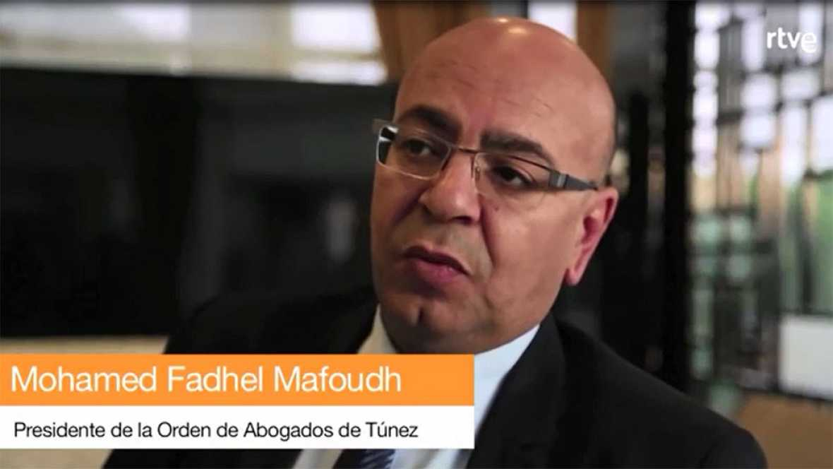 """Presidente de la Orden de Abogados de Túnez: """"Nuestro Islam es un Islam moderado"""""""