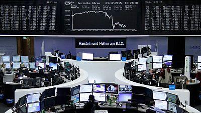 Las Bolsas reaccionan con caídas tras la reunión del Banco Central Europeo