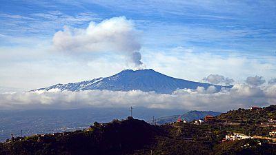 El Etna registra las erupciones más intensas de los últimos veinte años