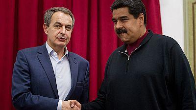 Zapatero insta al diálogo en Venezuela tras reunirse con Maduro
