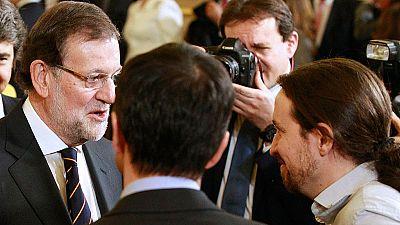 """Los candidatos celebran una Constitución que piden """"reformar"""", menos Rajoy, que no lo ve una """"prioridad"""""""