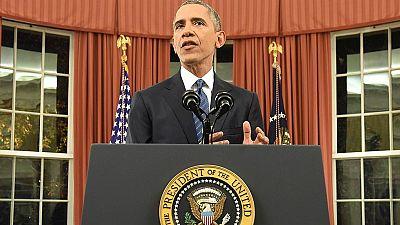 Obama califica el tiroteo de San Bernardino como acto terrorista y promete destruir al Estado Islámico