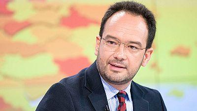 """Antonio Hernando: """"Hacer una reforma constitucional para solucionar lo de Cataluña es un error"""""""