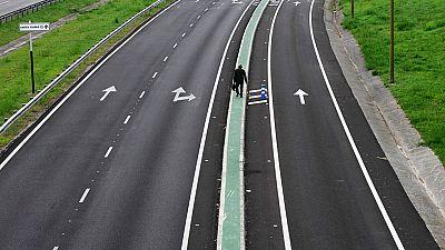 Cerrado el acceso a Oviedo  por la autopista Y debido a los altos niveles de contaminación