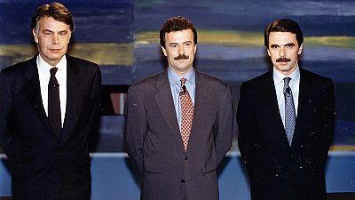 Así fueron los anteriores cara a cara en las elecciones generales en España