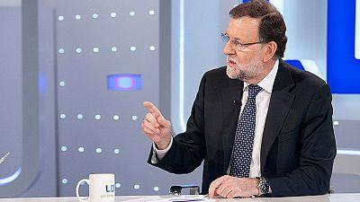 Rajoy promete una rebaja de impuestos al primer empleo y a los mayores que no se jubilen
