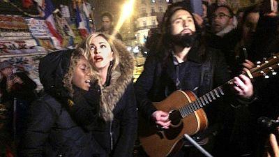 Homenaje de Madonna a las víctimas de los atentados de París