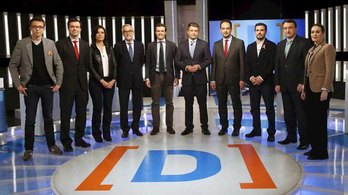 El debate de La 1 - Debate electoral - Ver ahora
