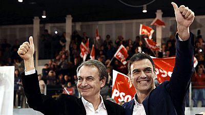 """Zapatero acusa a Ciudadanos de """"sacar el programa que el PP dejó en el cajón hace 10 años"""""""