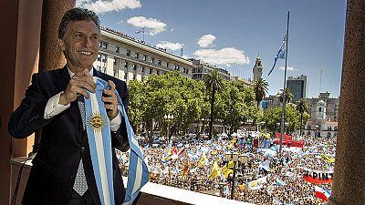 Mauricio Macri ha tomado posesión de su cargo en Argentina con una llamada a la unidad de todos los argentinos