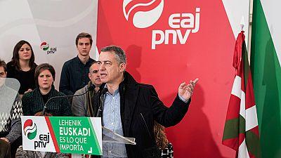 El PNV pide el voto para frenar una coalición PP-Ciudadanos