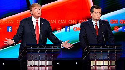 """Bush acusa a Trump de ser el """"candidato del caos"""" en el quinto debate republicano"""