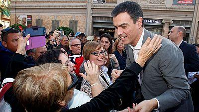 """Sánchez: """"La A de Arístegui, la B de Bárcenas, ... no hay letras en el abecedario para la corrupción del PP"""""""
