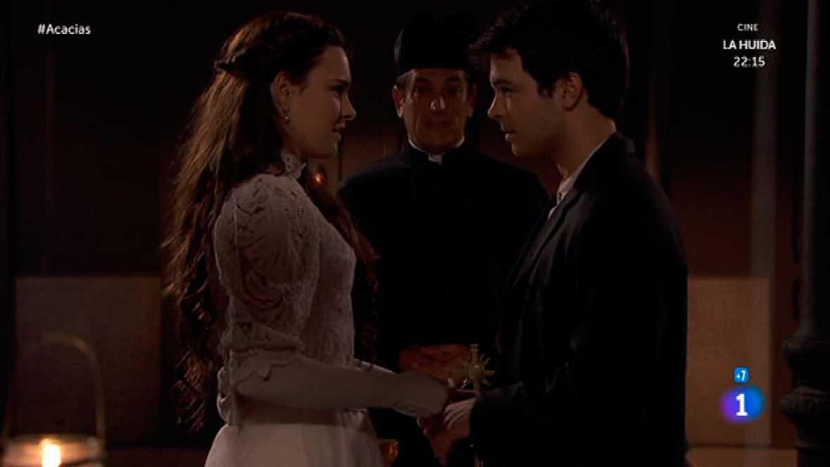 Acacias 38 - Pablo y Leonor se casan por la Iglesia