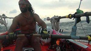 El Atlántico a remo: travesía marítima