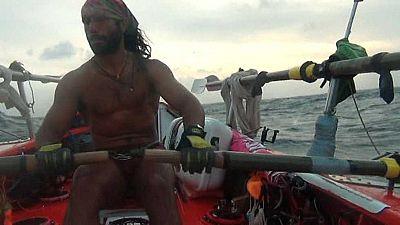Al filo de lo imposible - El Atlántico a remo: travesía marítima - Ver ahora