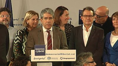 """El cabeza de lista de Democràcia i Llibertat (DiL), Francesc Homs, ha valorado los resultados de las elecciones generales como """"razonablemente positivos"""" ya que, según sus palabras, se han obtenido afrontando muchas adversidades y afrontando un clima"""