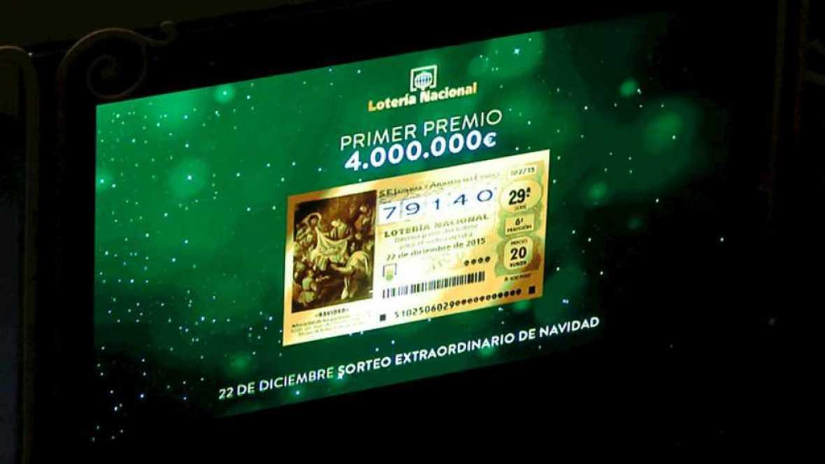 Sorteo de la Lotería de Navidad 2015 - Quinta hora - Ver ahora
