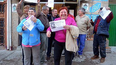 Alcorcón, Madrid, se lleva un pellizco del cuarto premio