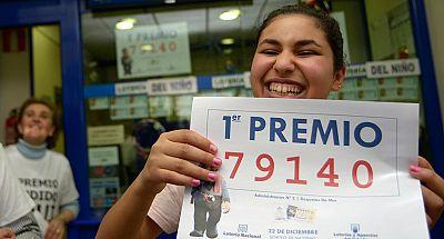 El Gordo de Navidad, el 79140, se ha vendido íntegramente en Roquetas de Mar, Almería