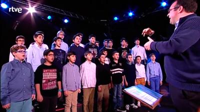 Felicitaci�n navide�a del coro de la Escolan�a de San Lorenzo de El Escorial