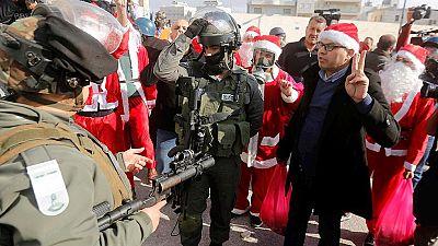 Navidad bajo la ocupación en Belén