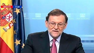 """Rajoy felicita la Navidad a las tropas en el exterior, la """"prueba del compromiso de España con la seguridad internacional"""""""