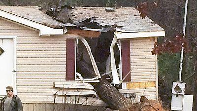 Inundaciones y tornados azotan el sureste de Estados Unidos