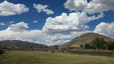 Teotihuacan desde el aire