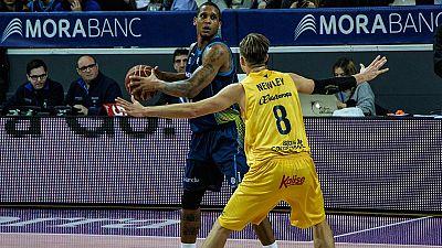 Morabanc Andorra se llevó una importante victoria (84-77) ante un Herbalife Gran Canaria que peleó la victoria hasta la prórroga.