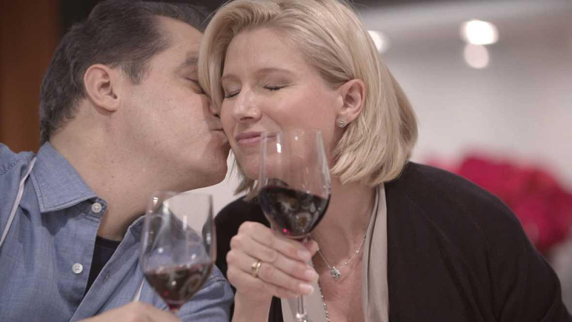 Anne Igartiburu y Ramón García, en el especial de Nochevieja de 'En la tuya o en la mía'