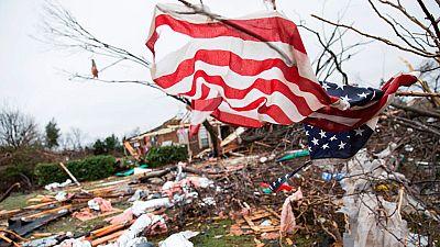 Al menos 43 muertos en EE.UU. por los tornados y tormentas que azotan el país