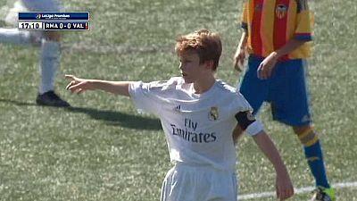 Fútbol - XX Torneo Internacional LaLiga Promises Sub-12. Miami 2015: 1/4 Final Real Madrid-Valencia - Ver ahora
